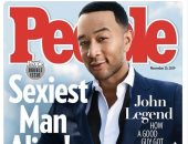 """مجلة بيبول تتوج """"جون ليجند"""" بلقب الرجل الأكثر جاذبية فى العالم لعام 2019"""