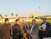 صور.. انطلاق حفل افتتاح دورى الجامعات المصرية.. وتكريم فريق جامعة طنطا