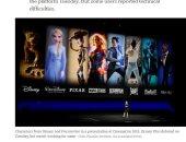 """صحف أمريكية: منصة """"ديزنى بلاس"""" Disney+"""" تتعرض للاختراق فى أول يوم إطلاق.. المستخدمين يشتكون من فشلهم في الوصول للخدمة.. والشركة ترد: نعمل على حل مشكلة المستخدم الحالية بسرعة"""