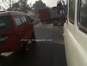 فيديو.. تعرف على الحالة المرورية أعلى الطريق الزراعى من طوخ لميدان المؤسسة