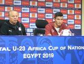 أسامة جلال: لا تقارنوا مباراة الافتتاح بأى لقاء آخر.. ولا يوجد توتر لدينا