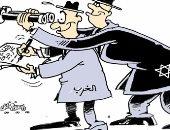 كاريكاتير الصحف العمانية .. الغرب ينظر الى القضايا العربية من نظارة الاحتلال الاسرائيلى