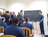 مدارس وورش ومعارض.. تفاصيل زيارة القومي لحقوق الإنسان لسجن جمصة