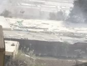 شكوى من دخان حرق القمامة فى شارع المدارس بمنطقة الوفاء والأمل فى مدينه نصر