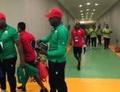 صور.. وصول منتخب كينيا ببرج العرب قبل 60 دقيقة من مواجهة مصر
