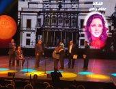 تكريم عفاف راضى والباليرنا سونيا سريركيس باحتفالية 150 عاما على إنشاء الأوبرا