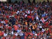 الجماهير المصرية  تُقدم ملحمة في فوز الفراعنة على الكاميرون