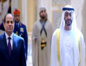 صور لاستقبال محمد بن زايد الرئيس السيسى فى قصر الوطن بأبو ظبى
