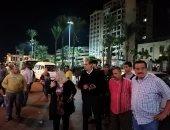 حمله مسائية لإزالة الإشغالات بحى جمرك الإسكندرية