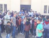 شاهد.. متحف ملوى يستقبل رحلات مدرسية من داخل وخارج المحافظة ×15 صورة