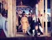 أخر مراسم تتويج إمبراطور اليابان بقضاء الليل مع إلهة الشمس