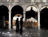أقدم كنائس فى إيطاليا تتعرض لأضرار جسيمة بعد فيضانات البندقية