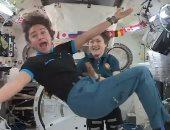 تفاصيل لقاء فضائى مع رائدات ناسا من داخل المحطة الدولية