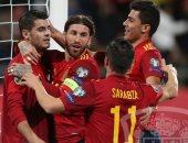 إسبانيا تتسلح برقم قياسى قبل مواجهة ألمانيا غداً فى دورى أمم أوروبا
