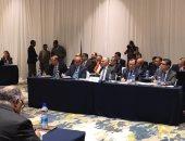 سفير مصر  فى أديس أبابا ينشر صورا لاجتماع تشاورات سد النهضة الثلاثية