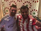 تركى آل الشيخ يجتمع مع الأرجنتينى ميسي بمدينة الرياض.. صور
