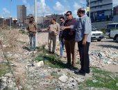 صور .. التصدى لـ7 حالات بناء مخالف فى 3 أحياء بالإسكندرية