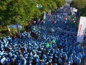 """20 ألف شخص يشاركون فى """"مسيرة حارب مرض السكرى"""" بدبى"""