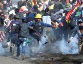 مظاهرات احتجاجية ضد قرار السلطات بتأجيل الانتخابات الرئاسية فى بوليفيا