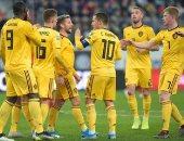 بلجيكا يقهر روسيا برباعية ويحافظ على العلامة الكاملة بتصفيات يورو 2020.. فيديو