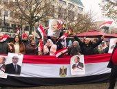 الجالية المصرية فى فرنسا ترحب بزيارة الرئيس السيسي إلى باريس