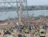 الحبس 3 سنوات للمتهمين بالتسبب فى انهيار برج كهرباء أوسيم ووفاة 5 عاملين