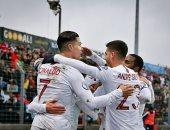 جميع أهداف مباريات الأحد.. رونالدو يصل للهدف 99 مع البرتغال