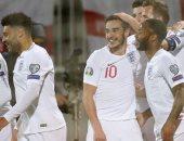 كوسوفو ضد إنجلترا.. الأسود الثلاثة يتفوق بهدف فى الشوط الأول.. فيديو