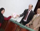 الزميل محمد ثروت يشارك فى تكريم جماعة الإعلام بدار العلوم جامعة القاهرة