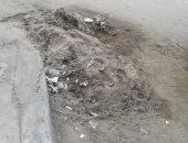شكوى من تراكم الأتربة بشارع مصطفى النحاس بمدينة نصر