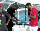 """لماذا بدأ منتخب مصر الشوط الثانى أمام جزر القمر بـ""""10 لاعبين""""؟!"""