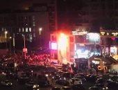 النيابة تطلب التحريات حول حريق محل حلوى شهير قرب ميدان الحصرى بأكتوبر