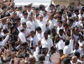 رئيس سريلانكا الجديد يؤدى اليمين الدستورية