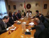 """وزير قطاع الأعمال العام يستقبل وفدًا من """"اليابان لحلول الغذاء"""" لبحث التعاون المشترك"""