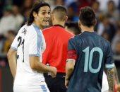 الأرجنتين ضد أوروجواى.. تعرف على تفاصيل مشادة ميسي وكافاني