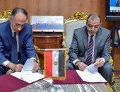 رئيس جامعة بنى سويف يوقع بروتوكول تعاون مع الهيئة القومية للاستشعار عن بعد