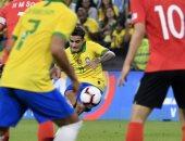 البرازيل تفترس كوريا الجنوبية بثلاثية وديا فى الإمارات.. فيديو