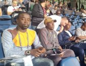 مدرب غانا يُشاهد مباراة مصر وجنوب أفريقيا من المدرجات