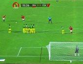 فيديو.. حارس جنوب أفريقيا يحرم المنتخب الأولمبى من هدف التقدم