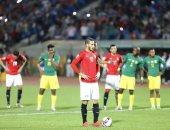 صور.. رمضان صبحي يتقدم لمنتخب مصر الأوليمبي أمام جنوب أفريقيا فى الدقيقة 60