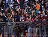 صور.. الجماهير تزين استاد القاهرة في ليلة صعود مصر لأولمبياد 2020