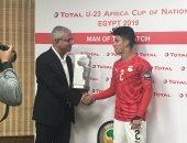 عمار حمدي: نسعى للفوز بالبطولة اللأفريقية بعد التأهل للأوليمبياد