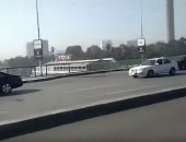 فيديو.. الحالة المرورية أعلى كوبرى أكتوبر من ميدان الإسعاف حتى الدقى
