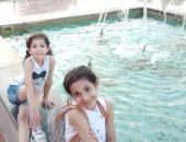 """يوم الطفل العالمي .. اب يشارك بصور بناته: """"يارب اشوفكوا أحسن الناس"""""""