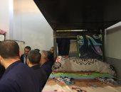 ملاعب وفصول محو أمية ومكتبات داخل سجن المنيا..فيديو