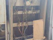 قارئ يرصد كشك كهرباء مفتوح بشارع عبد العزيز آل سعود بالمنيل
