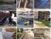 تهالك البنية التحتية لمدينة 15 مايو بجمصة.. شكوى من سكانها