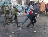 متظاهرون فى تشيلى يحيون ذكرى مرور شهر على الاحتجاجات