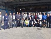 رئيس شركة الخدمات الأرضية يتابع أعمال التطوير بمحطة مطار برج العرب