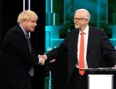 أول مناظرة بين جونسون وزعيم المعارضة البريطانية كوربين قبل انتخابات 12 ديسمبر